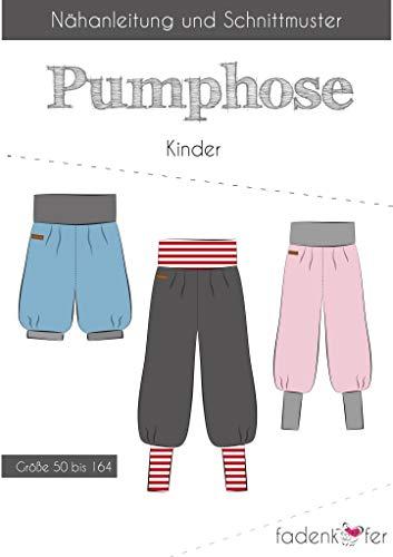 Stoffe Werning Schnittmuster Fadenkäfer Pumphose Kinder Gr. 50 bis 164 Papierschnittmuster