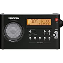Sangean PR-D7 - Radio portátil, negro