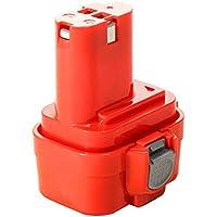Masione Tools Batteria Makita 9.6V 3000mAh 3Ah NiMh 6222DWLE 6222DWLE 6226D 6226DW 6226DWBE, Batteria f¨¹r Makita Typ 192595-8,192596-6,192638-6,193977-7,638344-4-2,9120,9122 - 18v Cordless Drill Set
