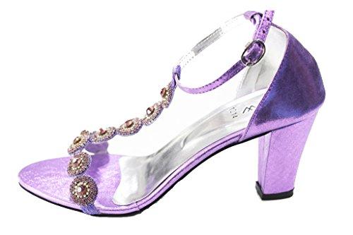Wear & Walk UK , Bride de cheville femme Lilas