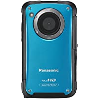 Panasonic HM-TA20 HD Mobile Camera - Blue (8MP Stills) 3-inch Touchscreen (Tripod Included)