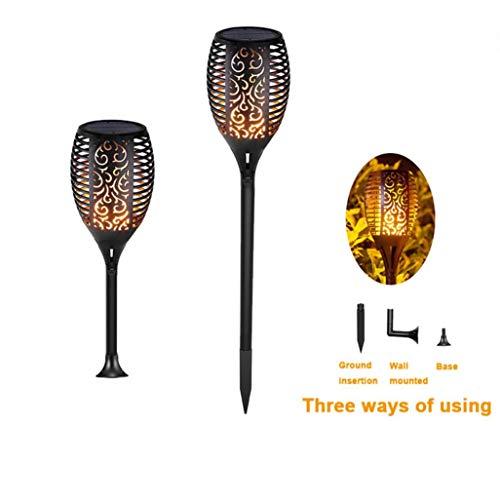 (Solar Light TAOtTAO 2Pcs Solar im Freien wasserdichte Lichter Laterne Lampe Garden Pathways Yard Patio)