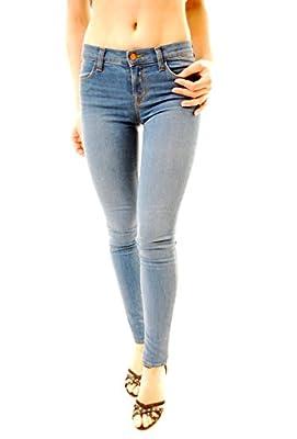 J BRAND Women's Lucas Super Skinny Jeans 620O216 W25 Blue