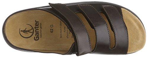 Ganter Laslo, Weite G, Chaussures de Claquettes homme Marron - Braun (espresso 2000)