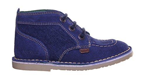 Kickers Adlar Legend en daim pour chaussures en cuir Blue Sude SS19