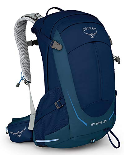 Osprey Stratos 24 Men's Ventilated Hiking Pack - Eclipse