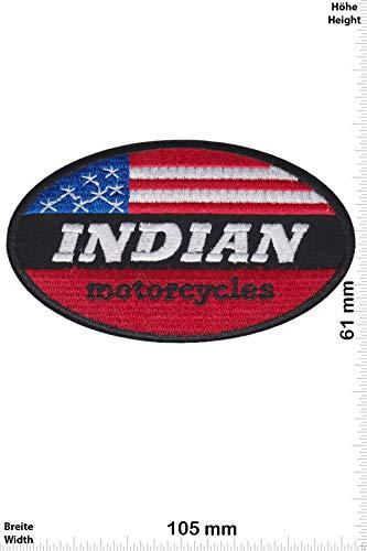 Patch - Indian Motorcycle - USA - HQ - Motorrad - Motorrad - Indian - Aufnäher - zum aufbügeln - Iron On