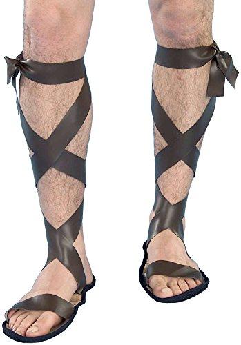 Forum Neuheiten Inc 17169 Roman Sandals (Forum Neuheiten Kostüm)
