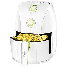 Cecotec Freidora Dietética sin Aceite Cecofry Compact Rapid White. Capacidad para 400gr de Patatas.