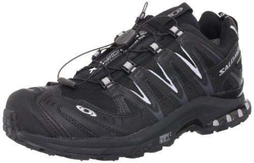 Salomon XA Pro 3D Ultra 2 GTX Black Black Pewter 42.5 (Ultra 3d Running-schuh Trail)