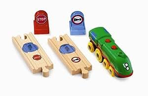 Brio - 33761 - Circuits de train en bois - Locomotive Smart Track