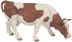 Papo - Figura de Vaca Simmental pastando (2051147)