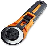 NESTOR & GAMBLE | Rollschneider für Stoff mit intergierter Schutzfunktion und rostfreier Edelstahlklinge Ø 45 mm