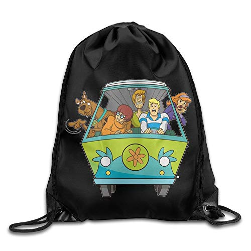 Zengyan Drawstring Tote Backpack Bag Scooby-DOO Family