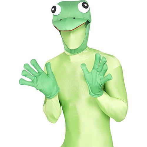 Amakando Frosch Kostüm Set Froschkostüm Kit Kermit Kostümset Froschverkleidung Tierkostüm Tier ()