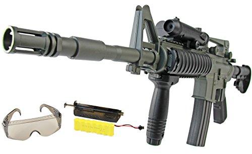 AEG Softair Sturm Gewehr M4 R.I.S mit Schutzbrille