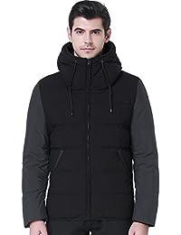 SSLR Manteau Duvet Slim Fit avec capuche