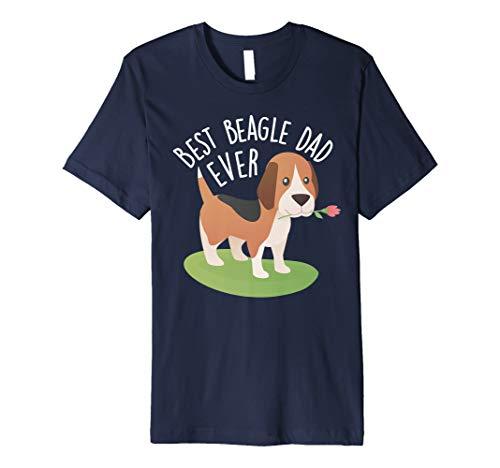 Beagleshirts T-Shirt Best Beagle Dad Ever Fun Shirt