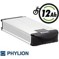 Phylion Akku XH370-10J für E-Bike Pedelec 37V 12Ah für u.a. MiFa, Rex, Prophete (D)