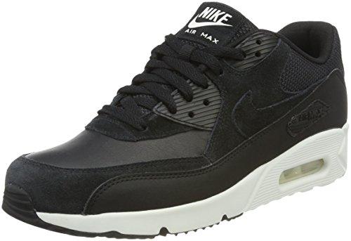 Nike Herren Air Max 90 Ultra 2.0 Ltr Sneaker, Schwarz (Black/Black-Summit White), 44 EU (Nike Herren Air Max 90 Premium)