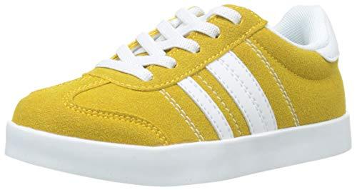 Zippy Zapatillas amarillas para niños y niñas, Amarillo dorado