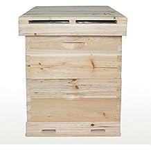Chino abeja Apis mellifera 7 Marco colmena caja extensión Apicultura Herramienta
