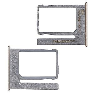 BisLinks® Marke Neu Gold Nano Sim Karte Tablett Halter Silber Ersatz Für HTC One Mini 2