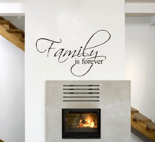 removable-wall-decal-family-is-forever-waterpoof-decal-wall-sticker-home-art