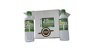ASG Airsoft BBS Blaster .20 gramme et Patch par First and Only Airsoft, Boîte à Munitions Airsoft - des BB Très Précis dans Une Super Affaire DE 12 bouteilles/36000 Shots