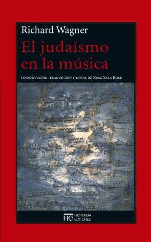 El judaísmo en la música por Richard Wagner