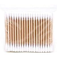 Joyfeel buy Bastoncillos de algodón bastoncillo oido con Asas de Madera para Limpieza, Maquillaje y Hotel, 100 por Paquete
