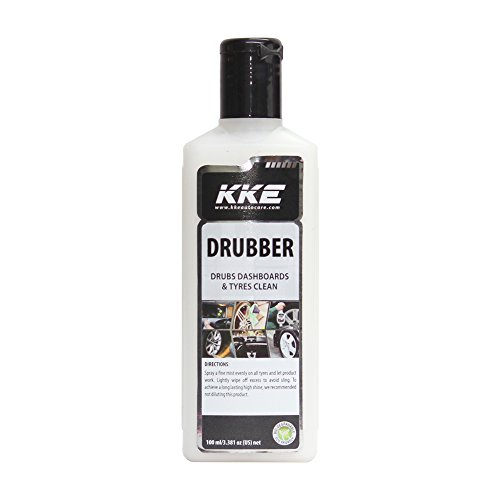 kke drubber: 100ml tire and dashboard shiner KKE Drubber: 100ml Tire and Dashboard Shiner 41MKA2ECwgL