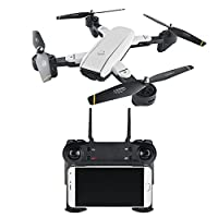 Sedeta SG700 Wifi FPV Drone 2.4GHz 6Axis 4CH Quadcopter UAV Aircraft Premium Foldable LED Lighting USB Charge Gyro Speed Adjustable