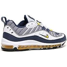 air max 98 bleu jaune