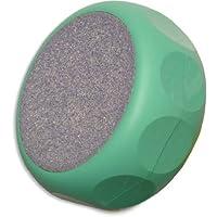 Erlinda - Rubbi Rub keramische Fußraspel, rund Ø 8 cm, mit eingelassenen Griffkerben, mint preisvergleich bei billige-tabletten.eu