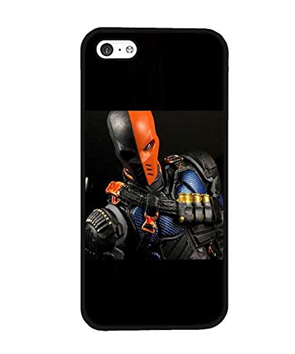 DC Comics Deathstroke Arrow Custodia Case for Iphone 5c, High Impact Solid Tough Compatible with Iphone 5c