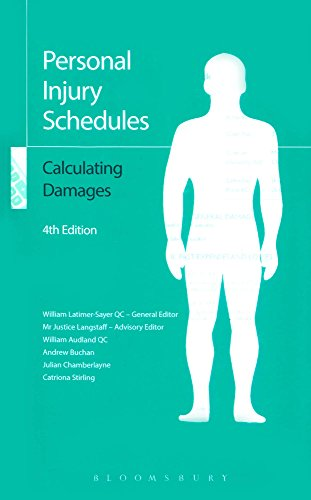 Personal Injury Schedules: Calculating Damages por William Latimer-Sayer