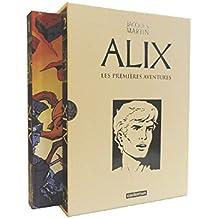 Alix, Les premières aventures : Recueils 1 et 2 : Alix l'intrépide ; Le sphinx d'or ; L'île maudite ; La tiare d'Oribal ; La griffe noire ; Les légions perdues ; Le dernier spartiate ;