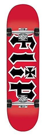 Flip HKD Red Complete Skateboard - Red/Black, 7.5