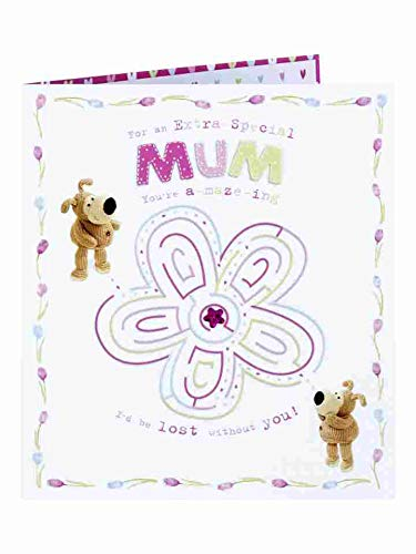 Blumen-labyrinth (UK Greetings Boofle Blume Labyrinth der Mamma-Mutter-Tageskarte)