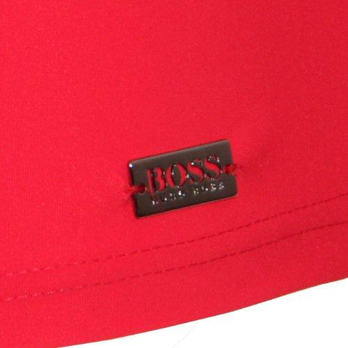 BOSS Hugo Boss Herren Badehose Oyster Rouge (weinrot medium red)