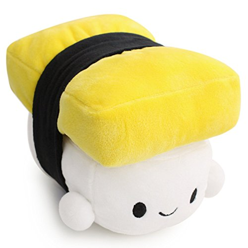 Colorfulworld Japanese Food Sushi Cute Cushion Plush Toy lovely pillow for sleeping (yellow)
