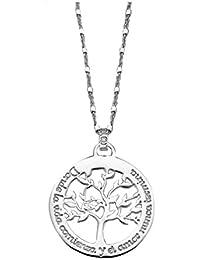 5fe1f5ff701d Collar Lotus Silver LP1641-1 1 Árbol de la vida Plata ...