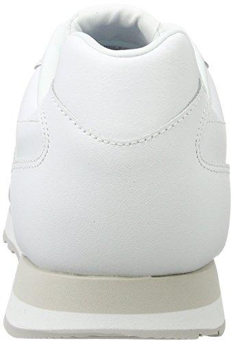 Reale Lx Blanc Homme Acciaio Reebok Glide bianco Cestini Bassi PqEwE1zdx