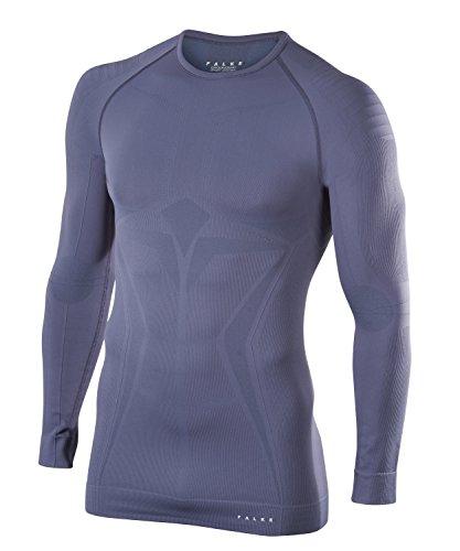 FALKE Herren Maximum Warm Longsleeved Shirt Tight Fit Sportunterwäsche Capitain S