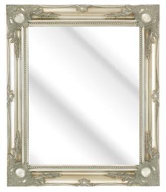 Plata-embolsados-Marco-pared-espejo-Mirrors-estilo-Shabby-Chic-tamaos-de-un-montn-de-3-pulgadas-Moldura