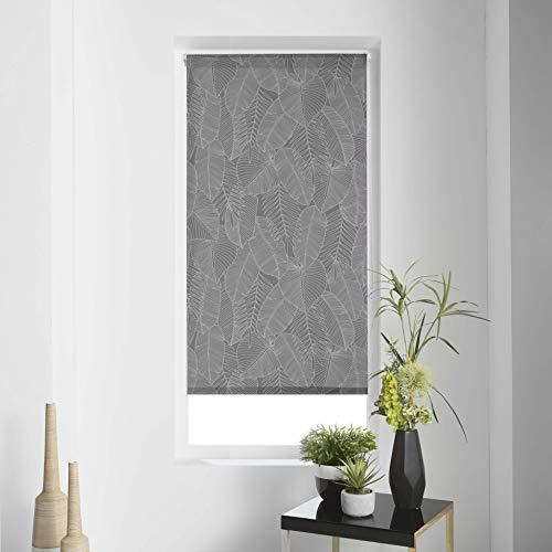 Estor Enrollable IMP. Japonés Polyester Batik, Gris, 120 x 180 cm