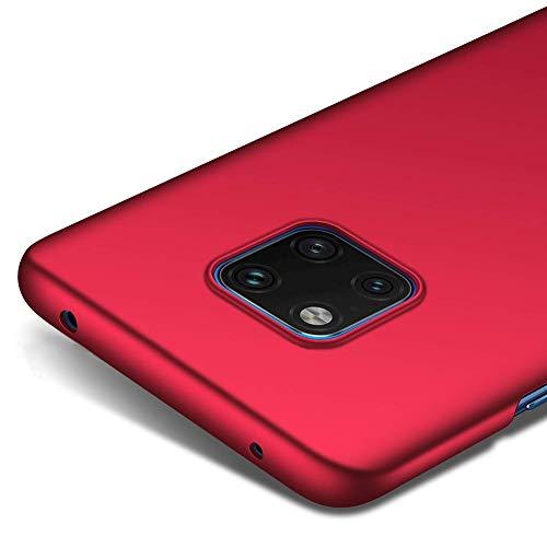 """Richgle Tampa Huawei Companheiro 20 PRO (6.39 """"), Red Ultra Fina caso capa capa protetora de plástico para Huawei Companheiro 20 PRO (6.39"""") RG00227"""
