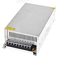 محول طاقة QPower 110/220 فولت إلى DC12V 50A 600W ، محول طاقة لكاميرا CCTV / نظام الأمن/ضوء شريط LED (12V 50A)