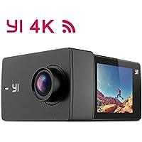 'Yi Discovery 4K Action Camera WiFi Camera Sport Cam 2.0LCD Touch Screen 150° grandangolare sensore Sony con batterie
